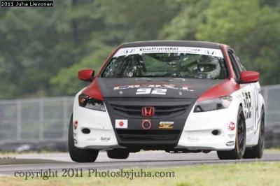 HART Accord racing at VIR, May 2011